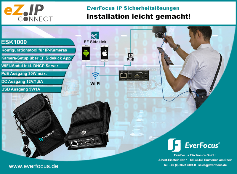 EverFocus ESK1000 IP-Sidekick