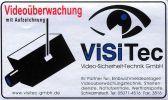 X VI Aufkleber-Set Videoüberwachung