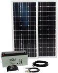 E EuroTECH Solaranlage 100W/125Ah