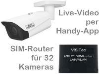 E 4G/LTE Mobilfunkkamera-Set SNC-441FBIFe PoE B311