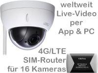E 4G/LTE Mobilfunk-Überwachungskamera Set BW3060
