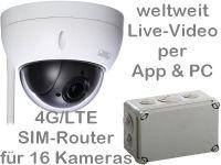 E 4G/LTE 3G/UMTS Mobilfunk-Überwachungskamera BW3060 AK162