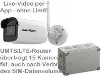 E 4G/LTE 3G/UMTS Mobilfunk-Baustellenkamera HK304 AK162-230 PP95