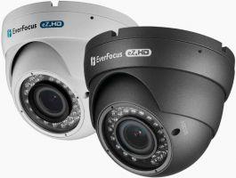 308.23 SONY MegaPixel Sensor EverFocus AHD EBD935F Full-HD Indoor/Outdoor Nachtsicht-Domekamera Vario (2,8-12)mm IR-Strahler 30m WDR 1080p