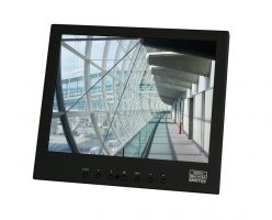 "SANTEC SLS-1045J SANTEC LCD Industriemonitor 10"" (25,4 cm) 1280 x 800 inkl. FB und Netzteil, entspiegelt, BNC/VGA/HDMI"