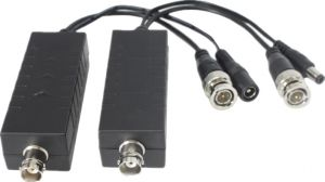 SANTEC HDCVI-810 PoC Einkabel Koaxial-Übertragungssystem für Videosignal (HD-CVI/HD-TVI/AHD/CVBS/FBAS) und 12VDC Stromversorgung