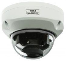 SANTEC SFC-241KDIM-A 4 in 1 Multi-Signal (HD-CVI, TVI, AHD, FBAS) IR Kuppelkamera 2,7- 12mm, IP-66 , Gehäuse in weiß, Anti-Vandal