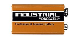 INDEXA ID1604   DURACELL Industrial 9V BLOCK-Batterie