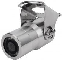 SANTEC SFC-241KBIFS Edelstahl 2MP Multi-Norm (HD-CVI, TVI, AHD, FBAS) IR-Bulletkamera Weitwinkel-Objektiv 3,6mm seewasserfest ideal für Seeschiffe