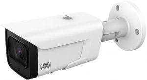 238.24 SANTEC SNC-421FBIA, Doppel-Full-HD 4MP IP-Bulletkamera, 2,7-13,5 mm 4x mot. Objektiv, IR-LED 60m, IP-66, PoE, App, Videoanalyse, H.265(+), Rekorder für SD-Card