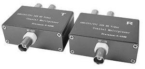 221.82 VCvision VC13544 Einkabel Koax-Übertragungs-System für 2 Videosignale, FBAS (analog composite), AHD, TVI, CVI